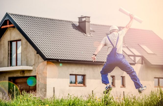excited home owner